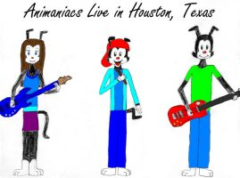 Animaniacs Live in Houston by Dorothy64116