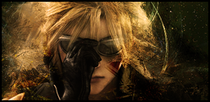 Cloud Strife Signature by Khirono