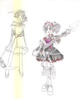 Gothic Lolitas ready to fight by Nobody-alchemist
