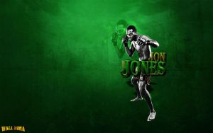 Jon Bones Jones by MMASportWall1982