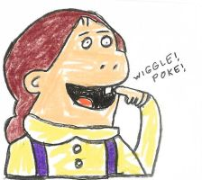 Muffy's loose tooth by dth1971