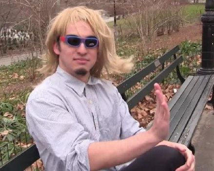 Filthy Frank Blonde Wig by twistedwhiskercat
