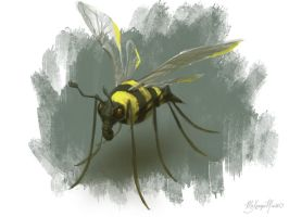 Speed Paint: Hybrid Insect by DM7