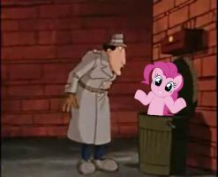 Pinkie Pie an Inspector Gadget by WilliamGuy