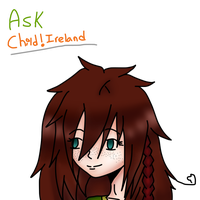 ASK EVENT!! - Child!Ireland by APH-RepblicOfIreland