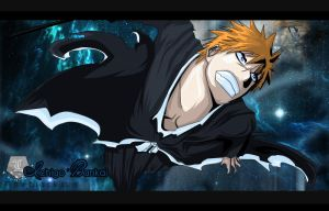 Ichigo Bankai - The Black Sun by Louen666