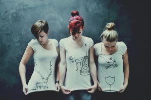 our own fairytale-shirts by LauraZalenga