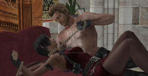 Wesker caught a Butterfly by Wesker500