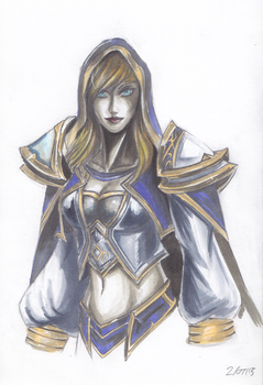 Jaina Copic marker practice by aznswordmaster1