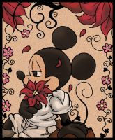 Mickey Mouse abstracto by Jack-a-Lynn