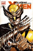 Wolverine and the XMEN Sketch Cover by deadlymike
