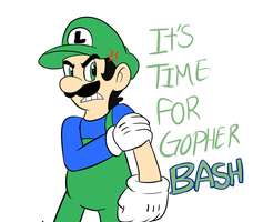 ITS TIME FOR GOPHER BASH!! by raygirl12