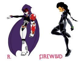 R and Firewind by MZiggy