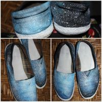 DIY4 Galaxy Shoes by ffdiaries958