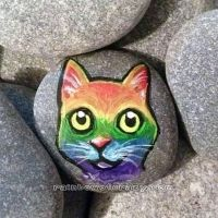 Rainbow Cat WIP by sobeyondthis