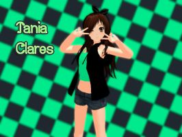 MMD Tania Clares by TaniaVocaloid