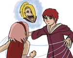 Deidara would probably... by TORTOLES