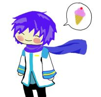 Kaito be Derpin by audgerdodger