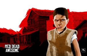 Red Dead Kid by martialartist11