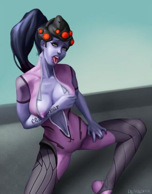 Hot Widowmaker by DearEditorr