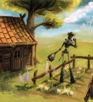 The Robotic Gardner by Joey-B
