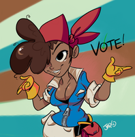 Vote for Delicious Brown Roxie. by JustinDurden