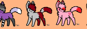Kitty Adopts 2 by ColoredShepherd