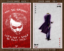The Joker - Carrying Card by UseYourIllusionII