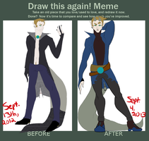 Draw This Again! - Myphris (2012-2013) by Nefepants