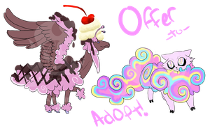Offer to Adopt: Psychedelic Clown Trip -OPEN- by AmzyTheChangeling