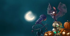 Halloween Bat by soonumb
