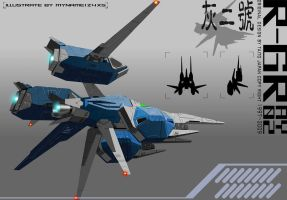 R-GRAY 02 render complete B by 4-X-S