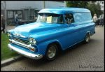 1958 Chevy Panel Van by compaan-art