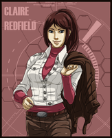 Claire Redfield - Degeneration by Arwencilla