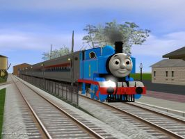 Thomas at Strasburg Railroad by ThomasandTUGSFan