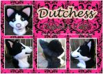 Dutchess Fursuit Head by TheGreenCoyote