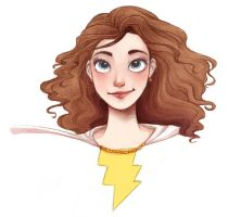 Mary Marvel by courtneygodbey