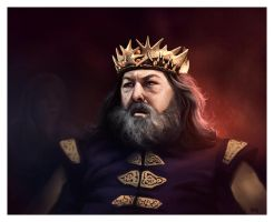 King Robert Baratheon by ReneAigner