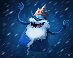 DAY 401. Ice King by Cryptid-Creations
