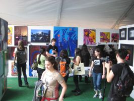 Miami deviantMEET at Multiversal 2011 Art Basel by aunnyd