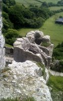 Stock Pic: Corfe Castle 21 by swandog