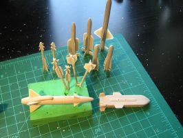 1/48 Scale JAS-39A/C Progress (Tons of fun guns.) by Coffeebean2
