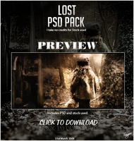 Lost PSD Pack by Sangiev