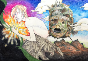 Howl's Moving Castle by Ghoulsnap