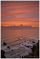Bude Bay Sunset by Shutterflutter