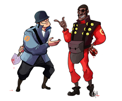 TF2-Truce? by monkeyoo