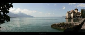 Chateau de Chillon by EmilieDurand