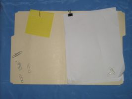 Folder and Paper 3 by WickedLady-Stock