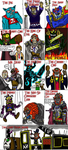 Ganon Throughout the Ages by Luke-the-F0x