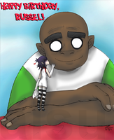 Happy Birthday Russel by aisu-isme
